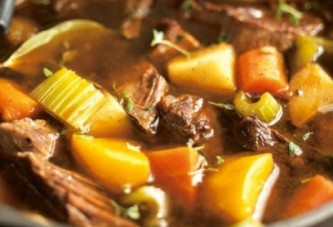 Chef House's Innis and Gunn Hearty Winter Stew