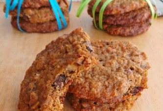 Healthy Cornflake-Chocolate-Chip Cookies