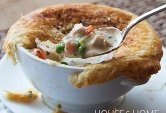 French Chicken Pot Pies Recipe