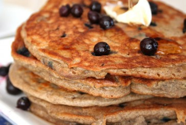 Chef House's Citrus Buckwheat Honey Pancakes