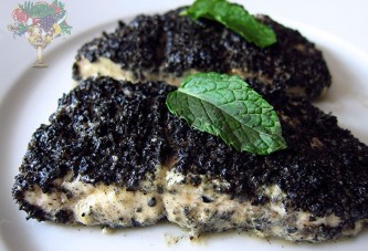 Black Sesame Mustard Whitefish Recipe