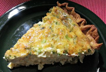 Crab Meat Quiche